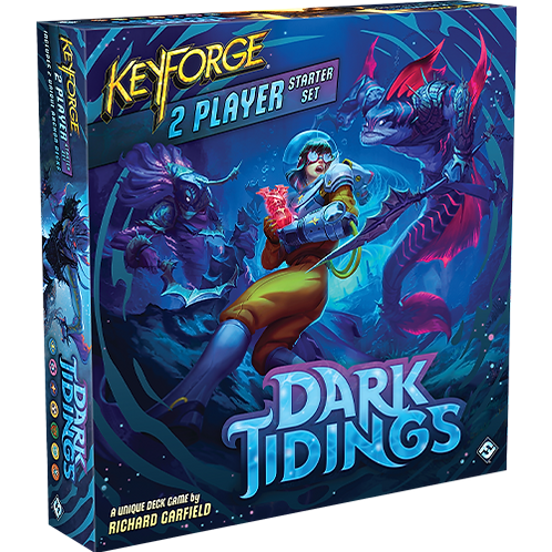 Keyforge: Dark Tidings 2-player Starter Set -pré-commande