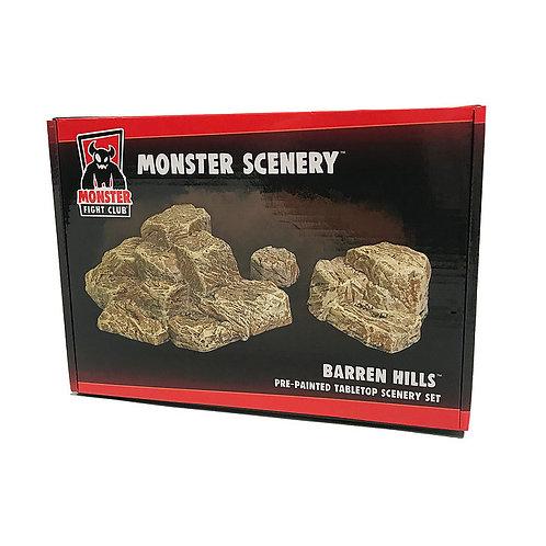 Barren Hills - Monster Scenery