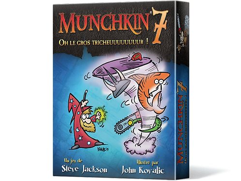 Munchkin 7 - Oh le Gros Tricheuuuuuuuur! (FR)