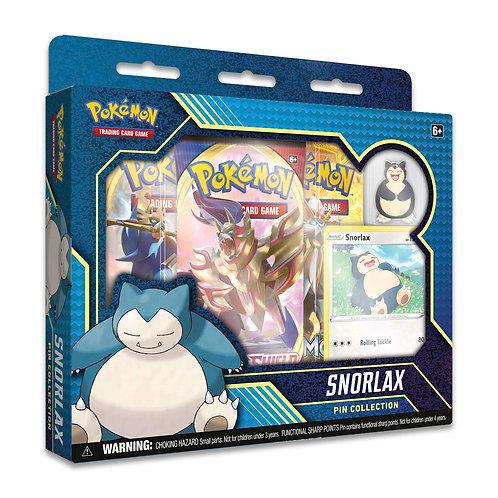 Snorlax Pin Collection  - Pokemon TCG
