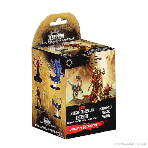 Eberron - Rising from the Last War - Booster de 4 pièces