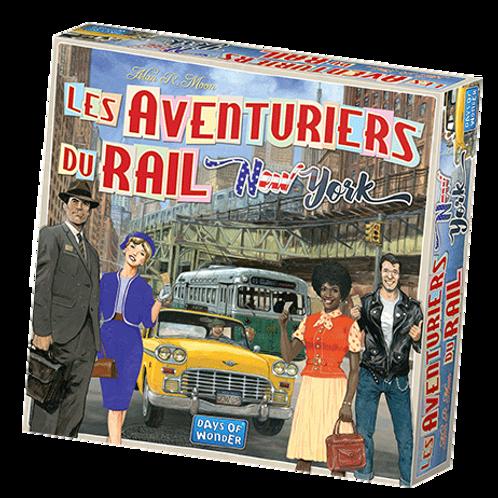 Les Aventuriers du Rail Express - New-York
