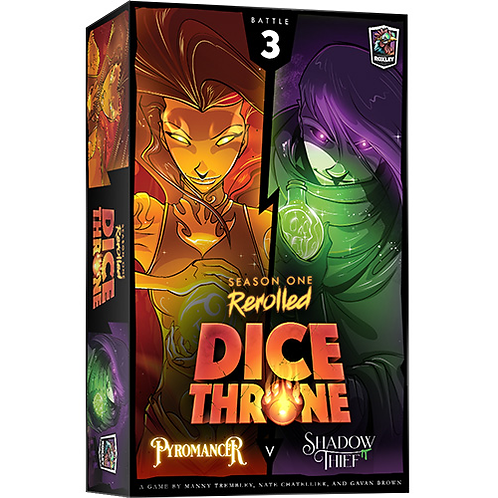 Dice Throne: Pyromancer V Shadow Thief - Seasons One Rerolled