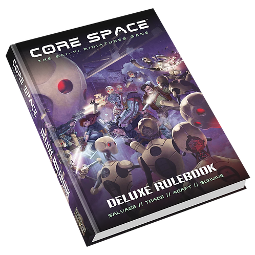 Core Space Deluxe Rulebook - Battle Systems