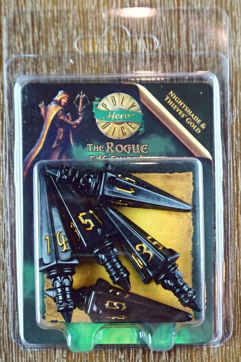 The Rogue - 5d6 Swords Nightshade & Thieves' Gold