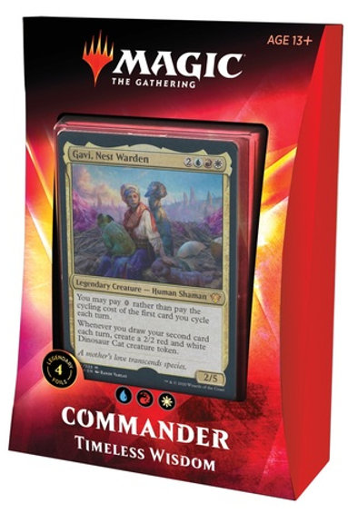 MTG Commander Ikoria: Timeless Wisdom (Blue-Red-White)