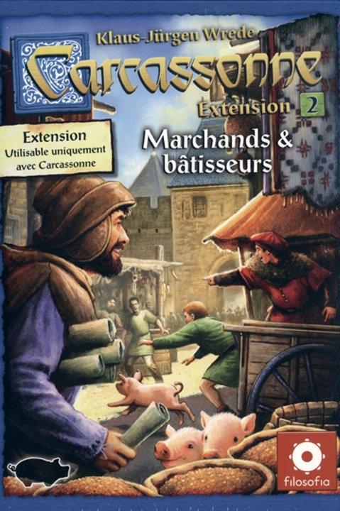 Carcassonne - ext. 2 Marchands & bâtisseurs