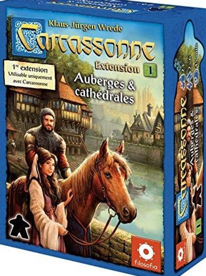 Carcassonne - ext. 1 Auberges & Cathédrales