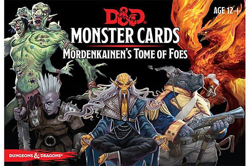 Monster Cards - Mordenkeinen's Tome of Foes (ENG)