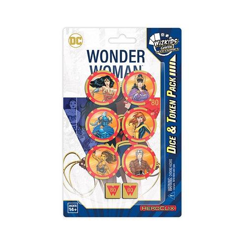 Dice & Token Set - Heroclix DC Wonder Woman 80th Anniversary