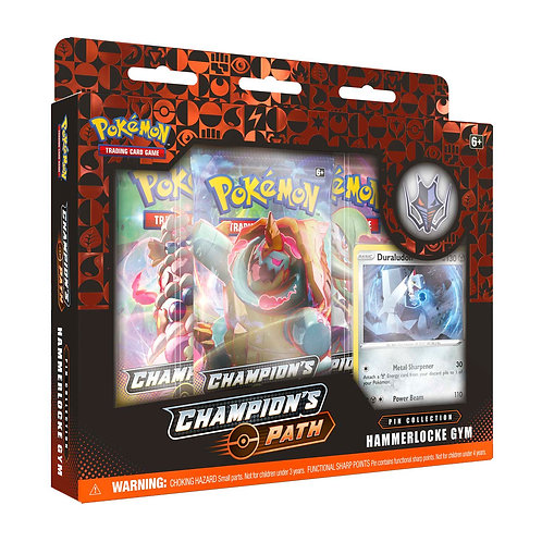 Hammerlocke Gym  - Pokemon TCG Champion's Path Pin Collection