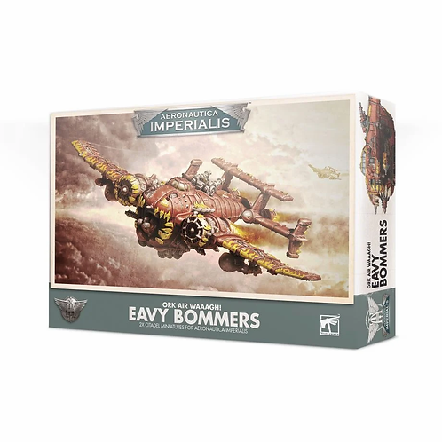 Eavy Bommers - Ork Air Waaagh! Aeronautica Imperialis