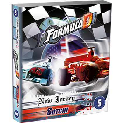 Formula D - extension 5 - New Jersey / Sochi (Multilingue)