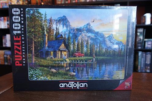 Puzzle Anatolian - 1000 mcx Sunset Cabin