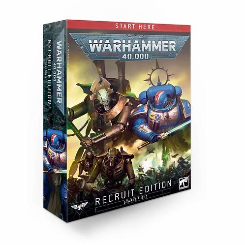 Warhammer 40k Starter Set Recruit Edition (ENG & FR)