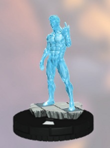 Iceman 033 Heroclix - X-Men: Rise and Fall