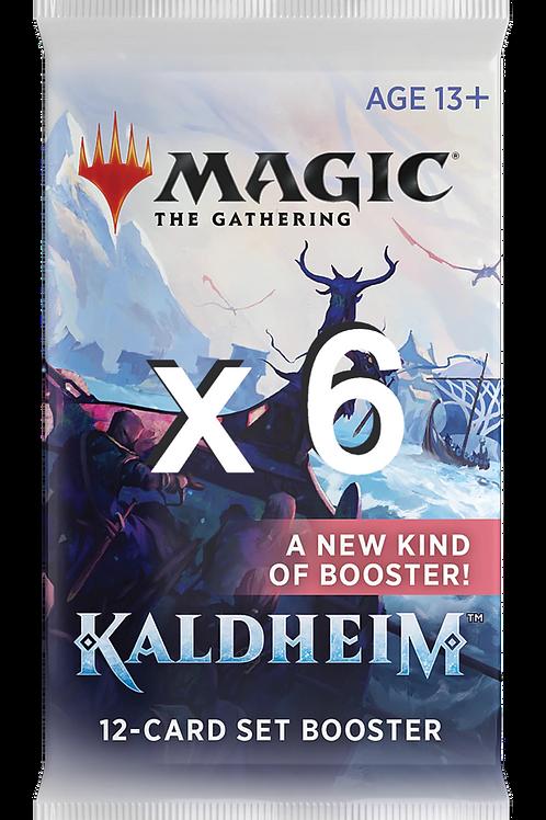 6 x Kaldheim - Set Booster - Magic: The Gathering