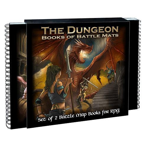 The Dungeon : Books of Battle Mats