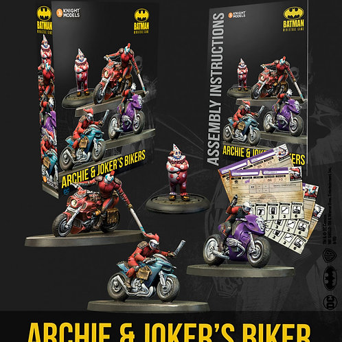 Archie & Joker's Bikers - Batman Miniature Game