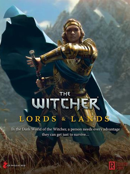 Lords & Lands - The Witcher RPG Game Screen and Expansion