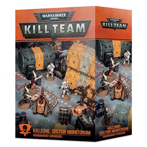 Kill Team Kill Zone: Sector Munitorum Environment Expansion