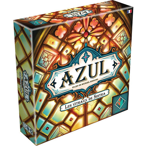 Azul  - Les vitraux de Sintra (bilingue)