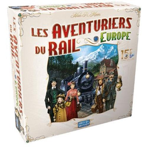 Les aventuriers du rail - Europe - 15e anniversaire