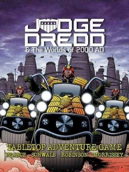 Judge Dredd RPG & The Worlds of 2,000 AD Tabletop RPG - Core Rulebook