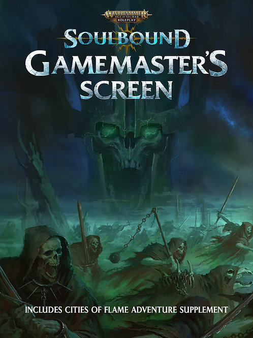 Soulbound, GM's screen - Warhammer Age of Sigmar RPG