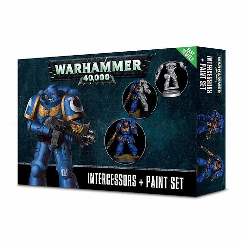 WH40K Intercessors + Paint Set