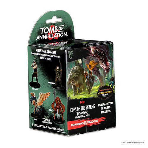 Tomb of Annihilation - D&D Icons of the Realms - booster