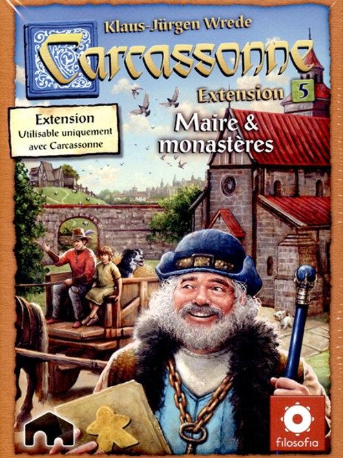 Carcassonne - ext. 5 Maire & monastères