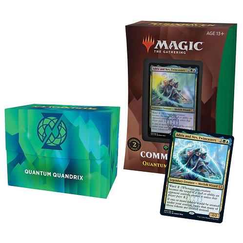 Strixhaven: School of Mages Commander Quantum Quandrix - MTG