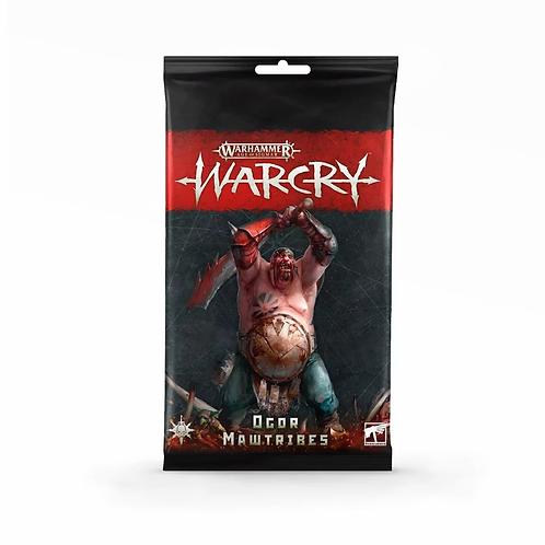 Warcry : Cartes de Ogor Mawtribes