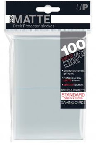 UP, Pro-Matte Deck Protector Sleeves, paquet de 1