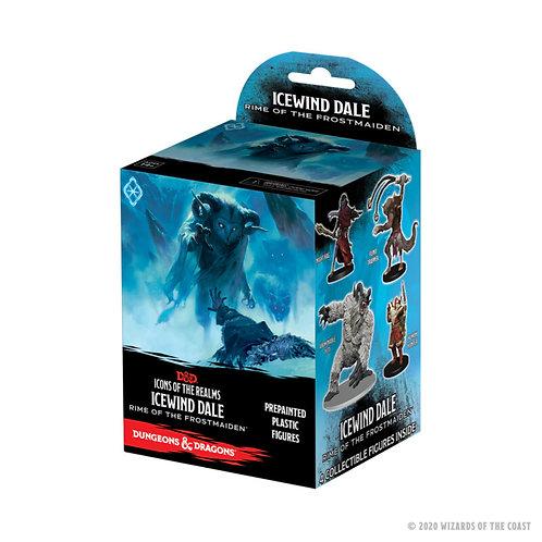 Icewind Dale - D&D Icons of the Realms - booster de 4 miniatures pré-peintes