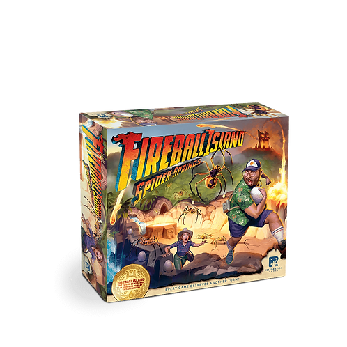 Fireball Island - Spider Springs (expansion)