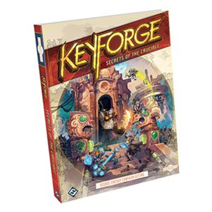 Keyforge - Secrets of the Crucible - Campaign Setting for Genesys RPG