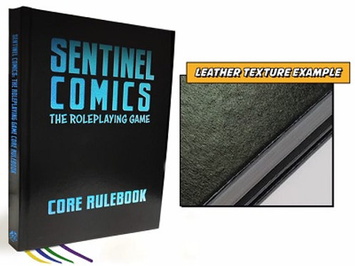 Core Rulebook Deluxe Ed. - Sentinel Comics: The Roleplaying Game - pré-commande