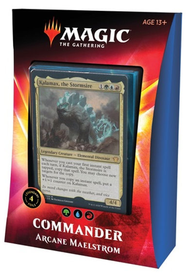 MTG Commander Ikoria: Arcane Maelstrom (Green-Blue-Red)