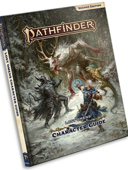 Pathfinder 2e - Lost Omens Character Guide