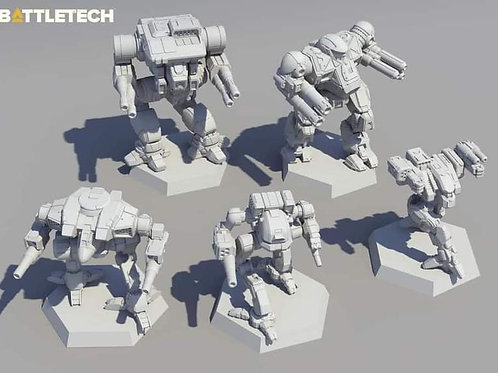 Battletech - Clan Fire Star