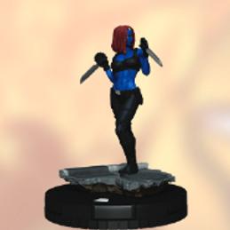 Mystique 022 Heroclix - X-Men: Rise and Fall
