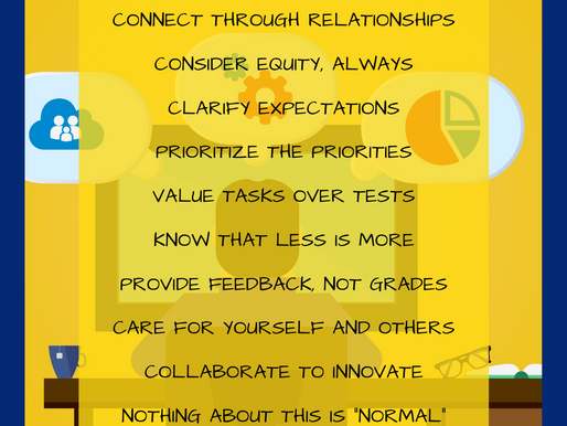 Remote Learning Reminders . . .