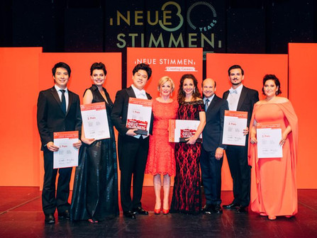 Neue Stimmen International Competition