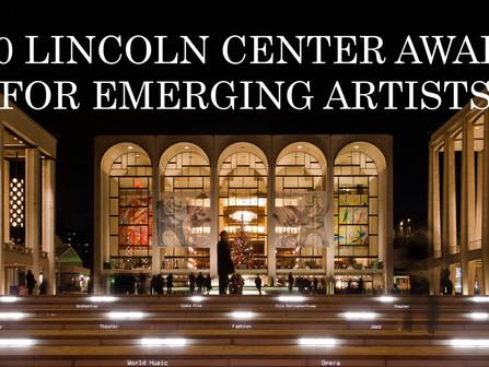Lincoln Center Award