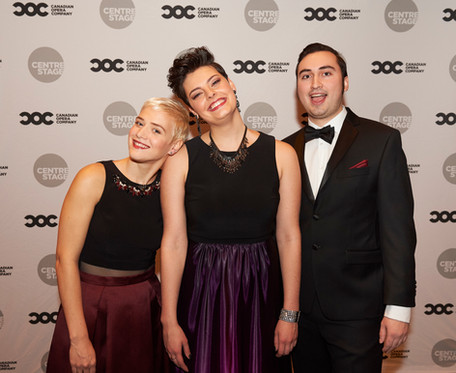 First Prize and Audience Choice in the Canadian Opera Company Studio Ensemble Competition