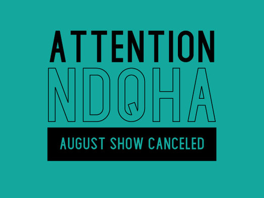 August Show Canceled
