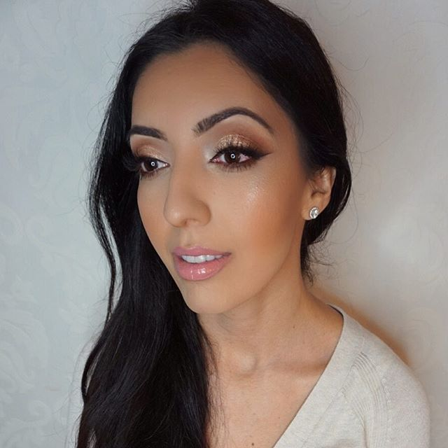 Today's glam on this Persian beauty!😍 Love her contour and eyes!! Mua_ #marlyn_v _Brows_ _anastasia