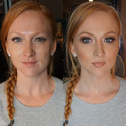 Before and After on today's bride to be! 👰🏻 She has the most amazing eyes! _Mua_ #marlyn_v _Founda